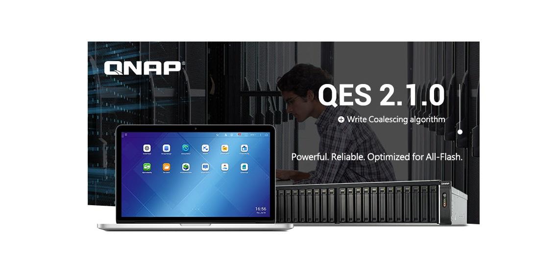 QNAP New QES 2.1.0 OS