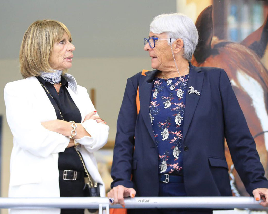 Salon du Cheval Interview: Christianne Chazel and Dominik Briot