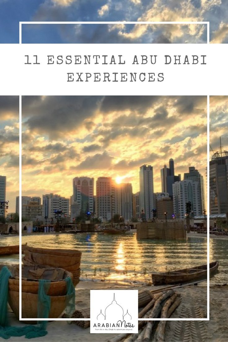 11 Essential Abu Dhabi Experiences: top picks not to miss from around the city itself to venturing further afield to explore the wider Emirate.