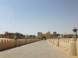 Qasr Al Sarab - the grand entrance!