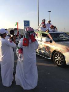 UAE national day 2013 - Yas Island Car parade