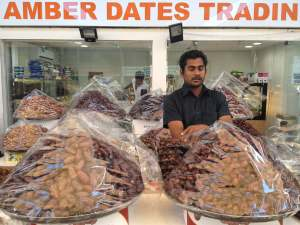 Dates and dried fruits galore!