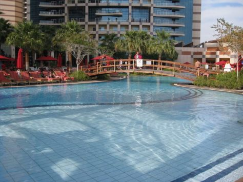 Khalidiya Palace pool
