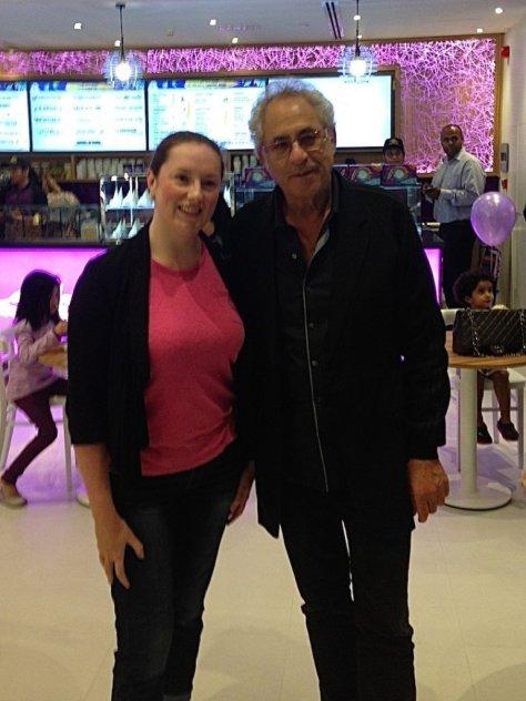 Me with Emack & Bolio's founder, Bob Rook