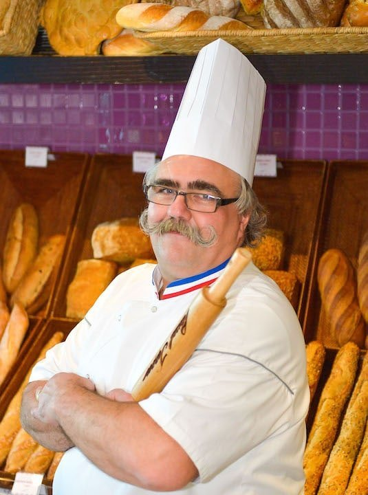 Master Baker Chef Pascal Tepper at his first Abu Dhabi-based Pascal Tepper French Bakery outlet_IZ46034