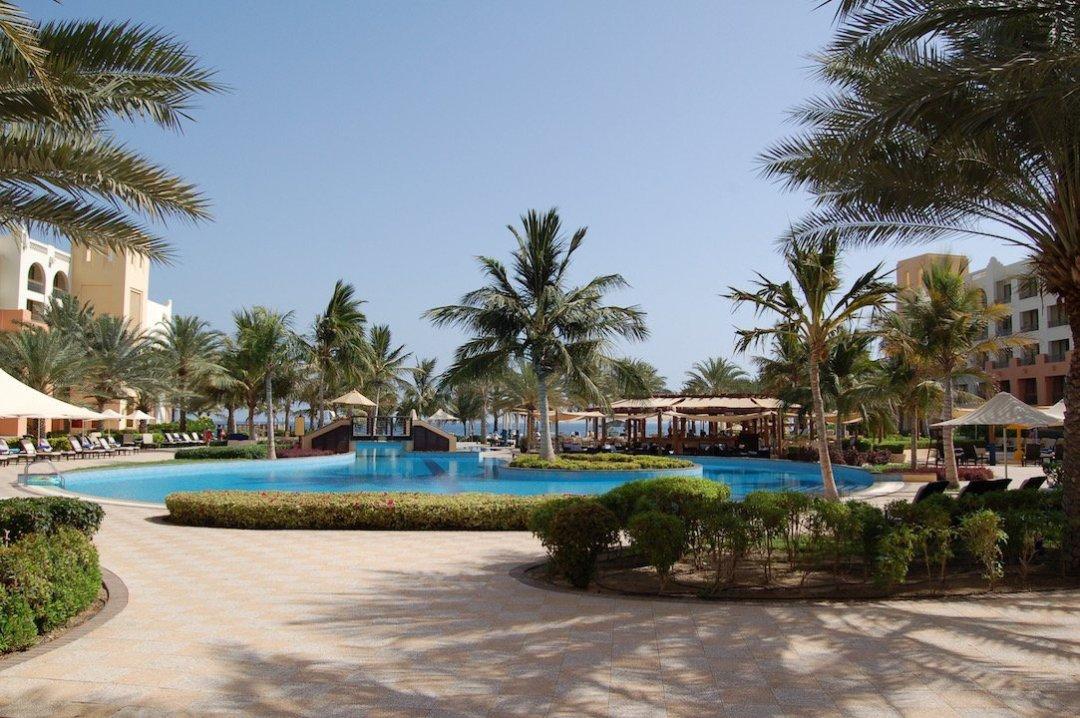 The pool at Al Waha