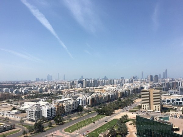 Abu Dhabi city view Arabian Notes March 2016