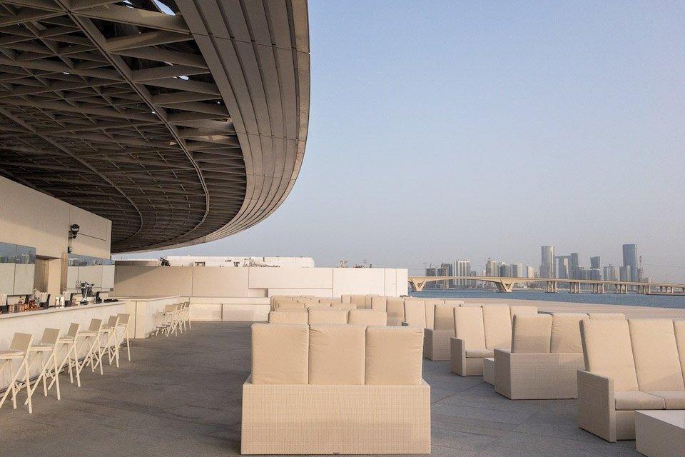 Art Lounge at the Louvre Abu Dhabi