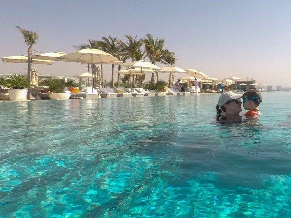 Burj Al Arab pool