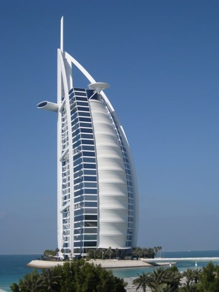 Burj Al Arab Dubai Arabian Notes