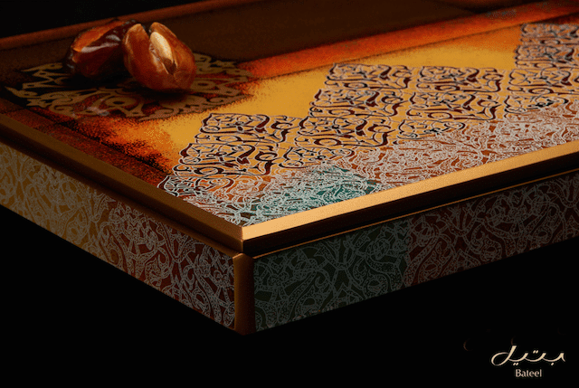 Desert Rose limited edition hand painted wooden box