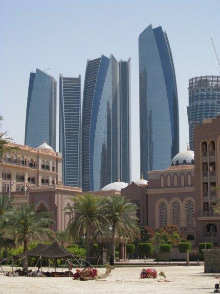 Emirates Palace Etihad Towers Arabian Notes