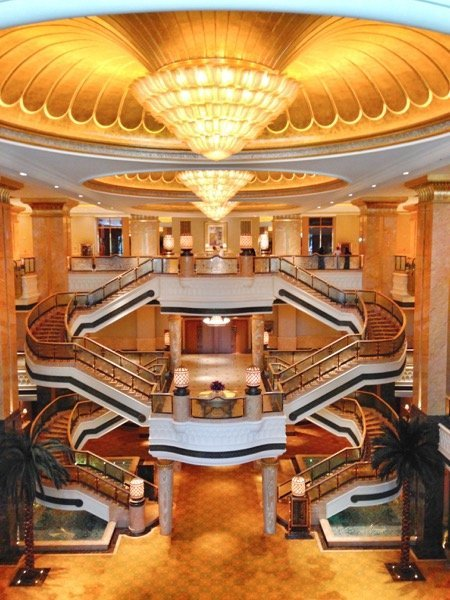 Emirates Palace interior Arabian Notes