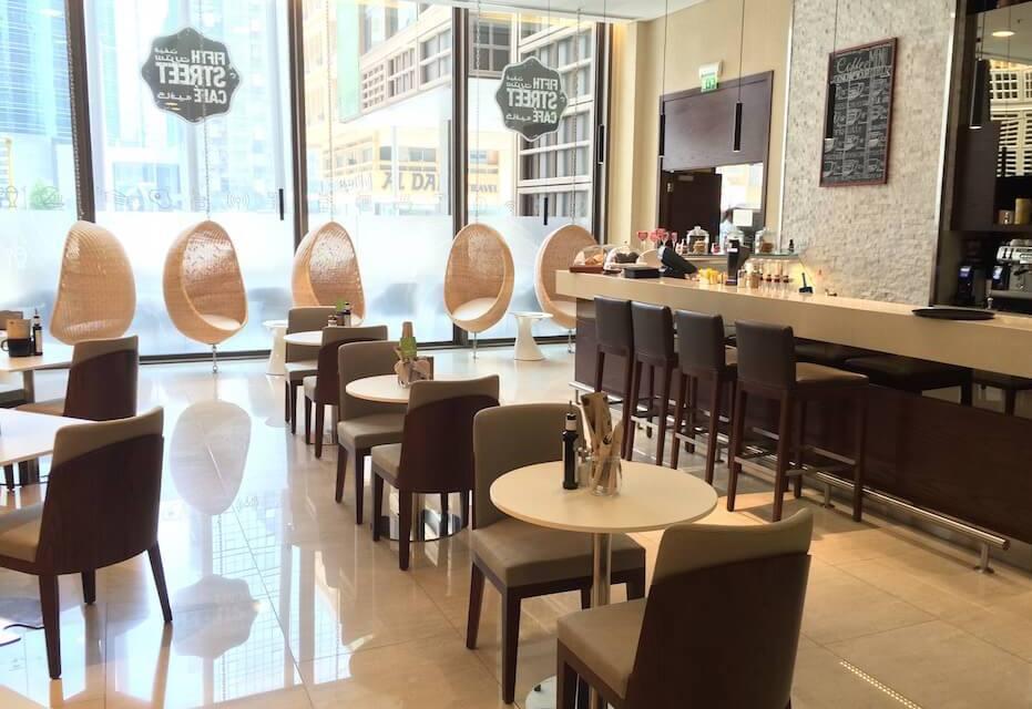 Fifth Street Café, Courtyard by Marriott WTCAD