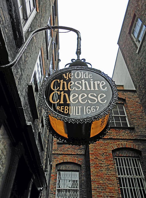Photo Credit: by Duncan Harris from Nottingham, UK (The Cheshire Cheese) [CC BY 2.0 (http://creativecommons.org/licenses/by/2.0)], via Wikimedia Commons