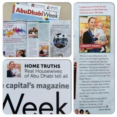 Arabian Notes in Abu Dhabi Week May 2015