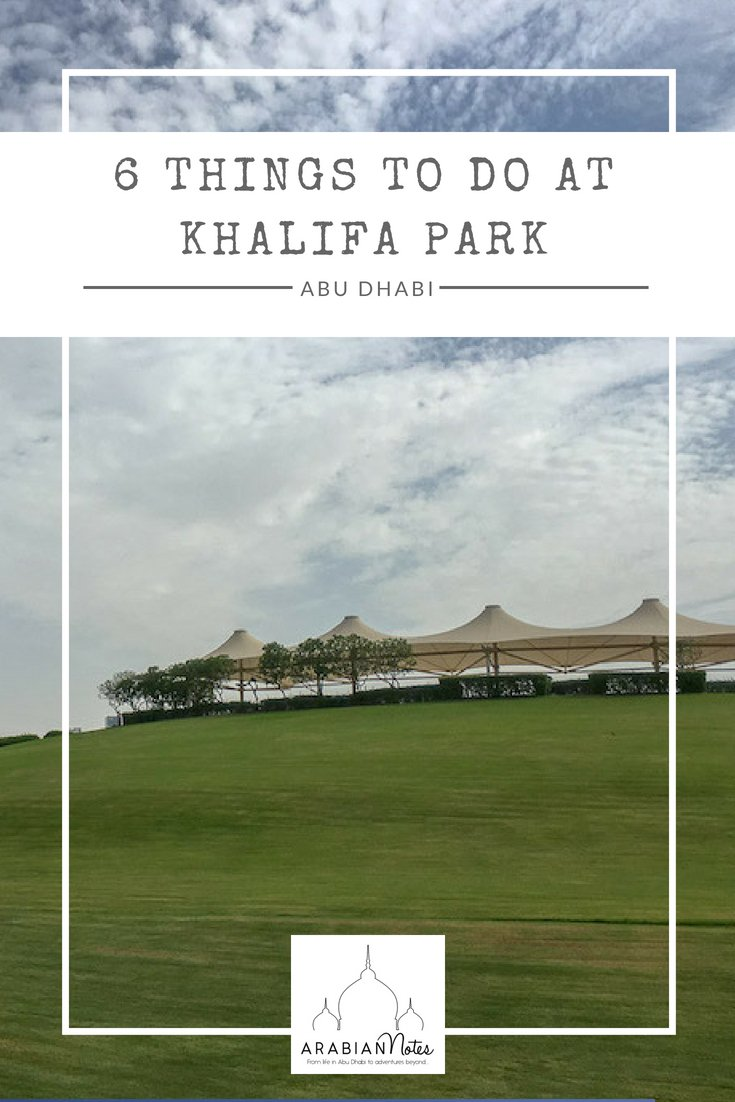 Khalifa Park itself is fairly well known, but did you know there was so much to do? Discover the treasures of the park with six things to do for families.