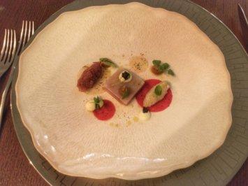 Tuna and Scallop Tartar