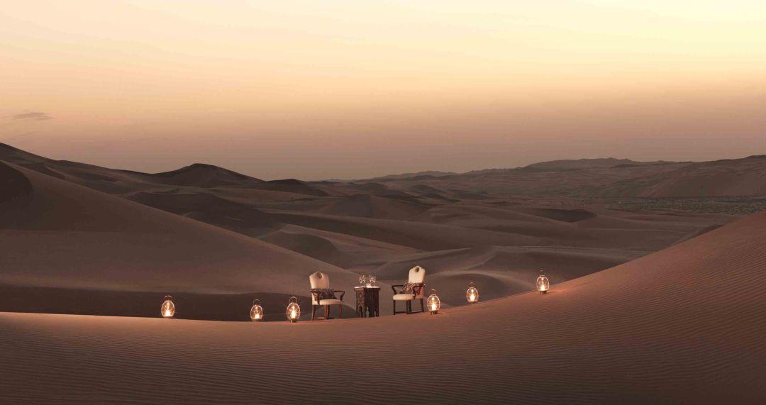 Qasr Al Sarab dining by Design