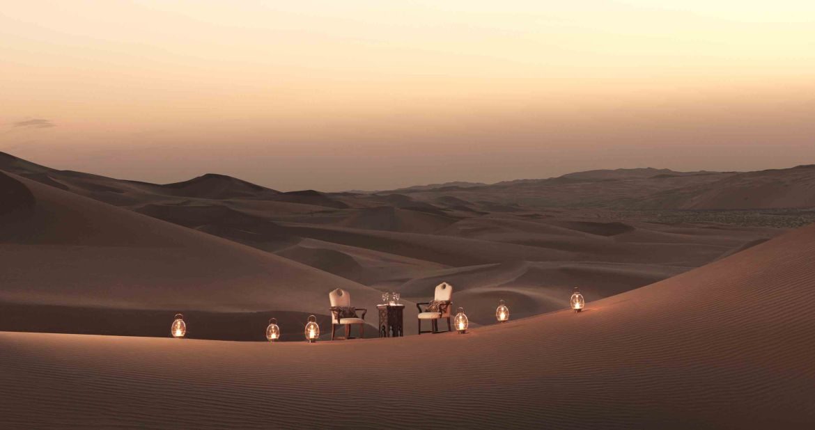 Qasr Al Sarab dining by Design