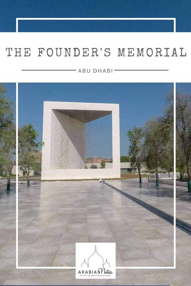 Inaugurated in April 2018, The Founder's Memorial is a beautiful space and artwork dedicated to celebrating the life of Sheikh Zayed.
