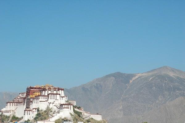 Tibet Lhasa Potala Palace Arabian Notes