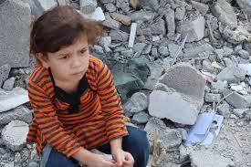 Little girl in Gaza Strip