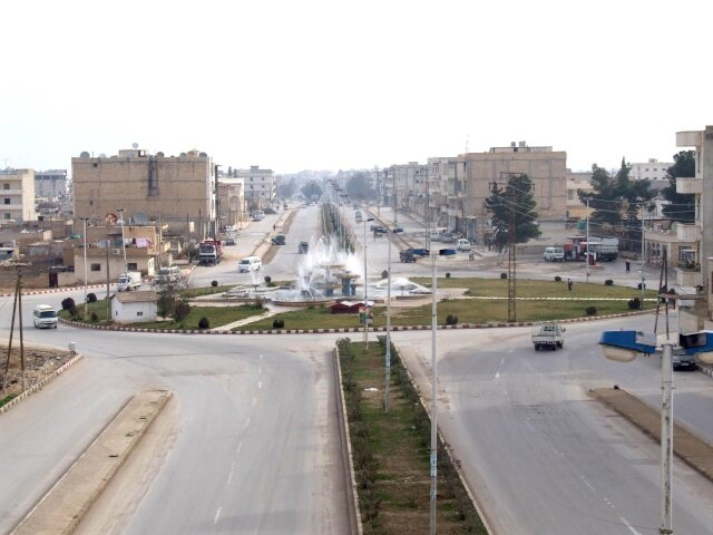 Seven Fountains Roundabout Manbij, Syria