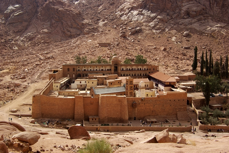 Saint Catherine's Monastery close to Sharm el Sheikh, Egypt
