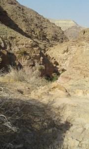 The Arui Cave in the Tafilah Governorate, Jordan