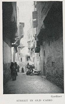 Street in Cairo in 1906