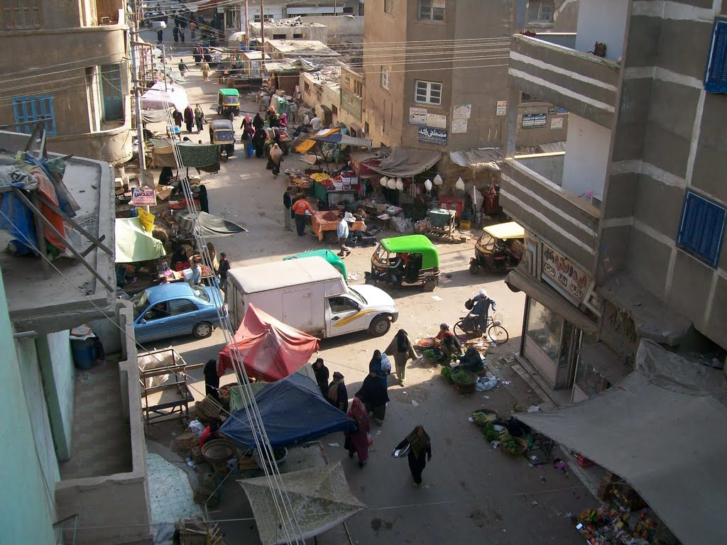 Madinet Zefta, street view, Egypt