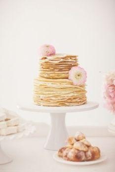 Pancakes Wedding Cake