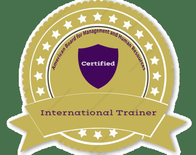 كيف تصبح مدرب دولي معتمد - البورد الامريكي للادارة والموارد البشرية