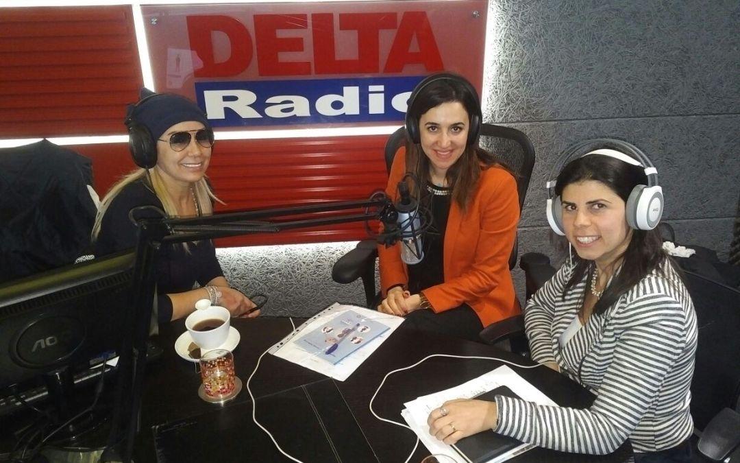 مقابلة اذاعة راديو دلتا مع زينة مهنا وديما حداد حول محاربة الاتجار بالبشر