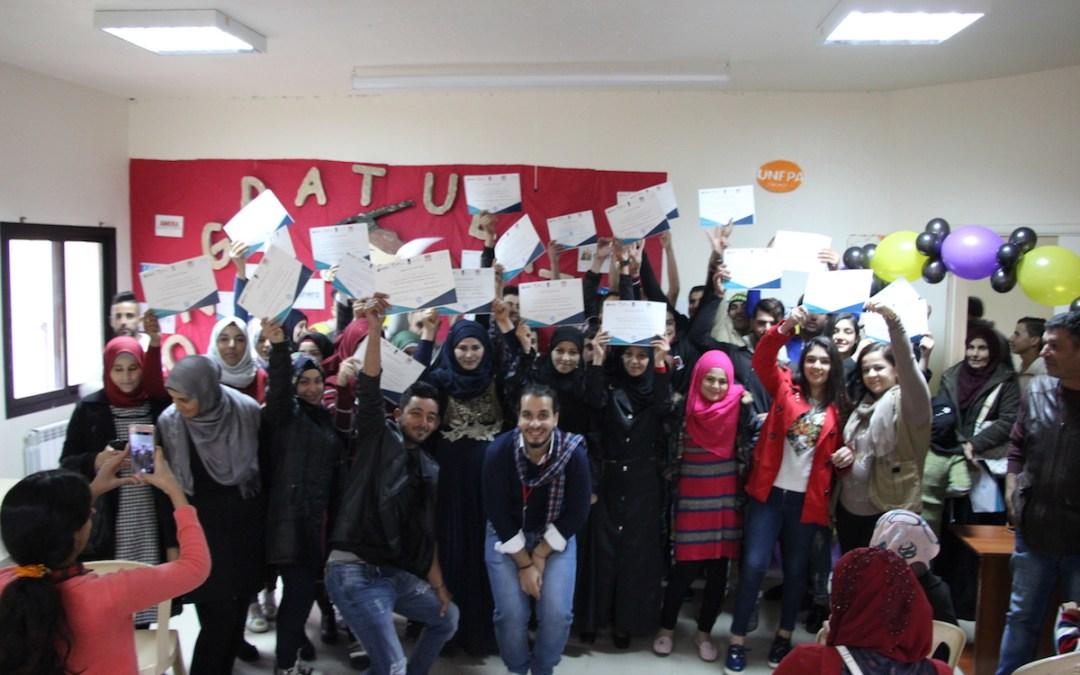 في مواجهة التسرب المدرسي والأميّة: عامل تخرج 260 طالباً أتموا دورات التمكين التعليمي والحياتي
