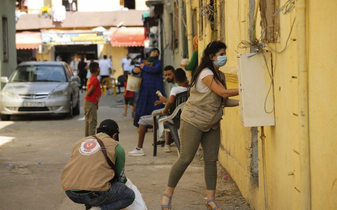 """برنامج الأمن الغذائي في """"عامل"""" يتأهب لمساندة المناطق المنكوبة في بيروت"""