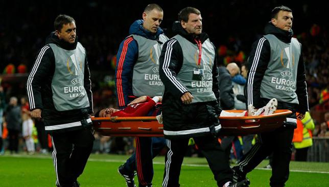 ماركوس روخو يغادر لقاء أندرلخت مصابا