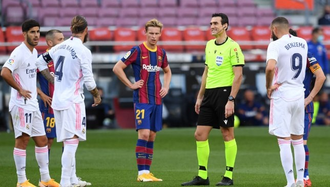 Real Madrid x Barcelona - La Liga