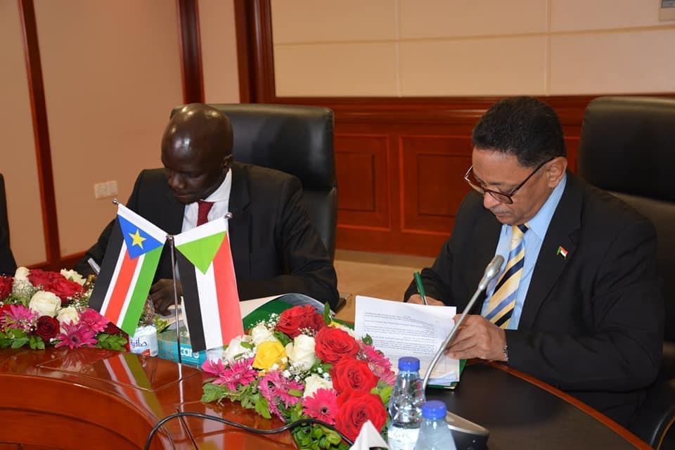وزراء النفط السودان وجنوب السودان (صورة أرشيفية)