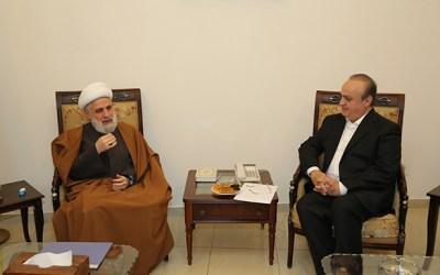 """وهاب بعد زيارته قاسم: """"حزب الله"""" كان ومازال وسيبقى الى جانب حلفائه"""