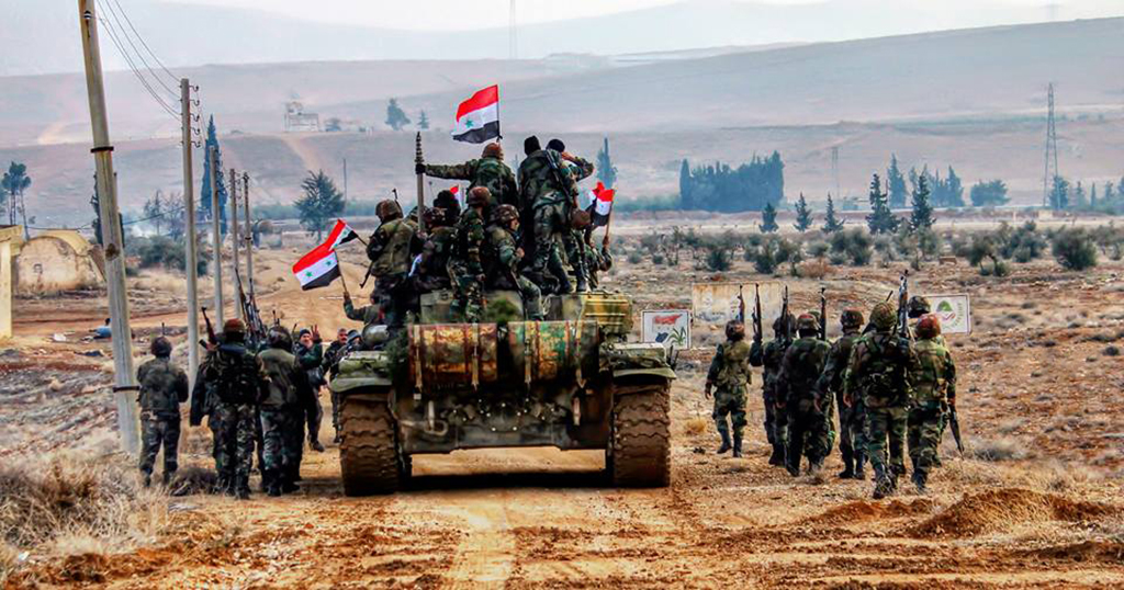 الجيش السوري يحسم معركة بادية السويداء