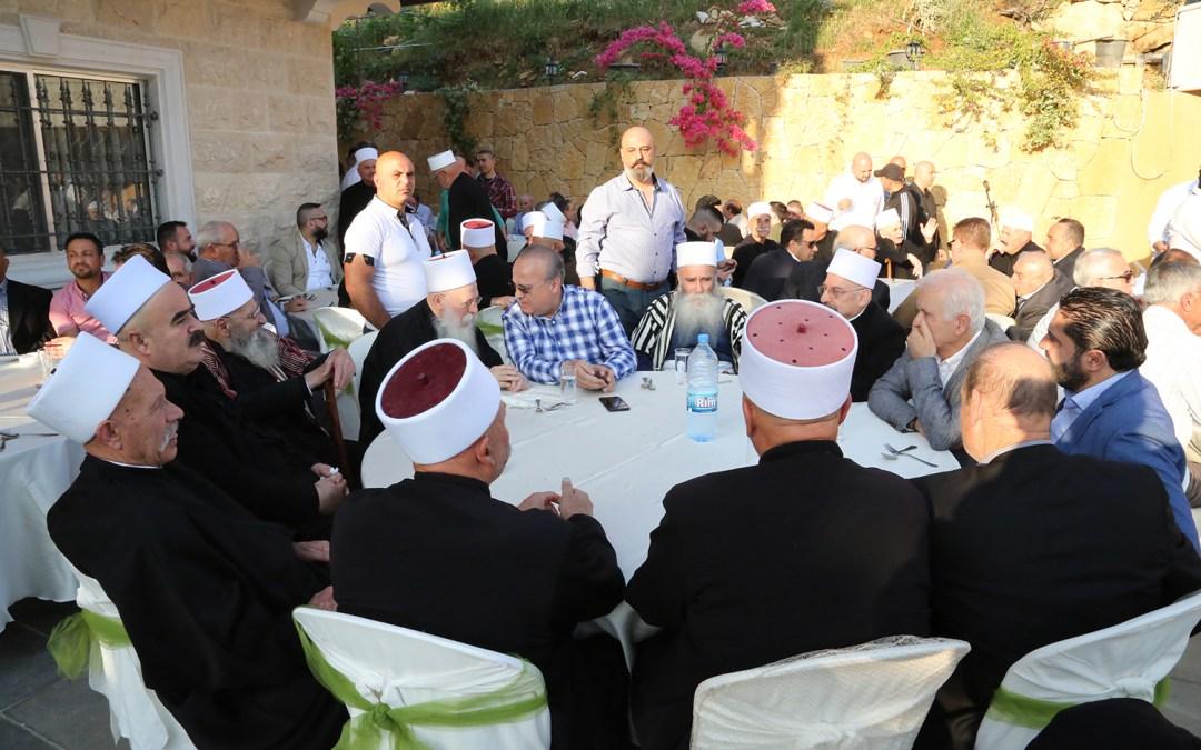 وهاب خلال حفل تكريمي في الشوف: نحن أصحاب حق وهذا الحق يبدأ بإنشاء مجلس الشيوخ