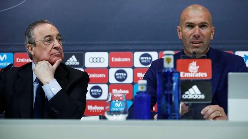 زيدان يعلن استقالته رسميا من تدريب ريال مدريد