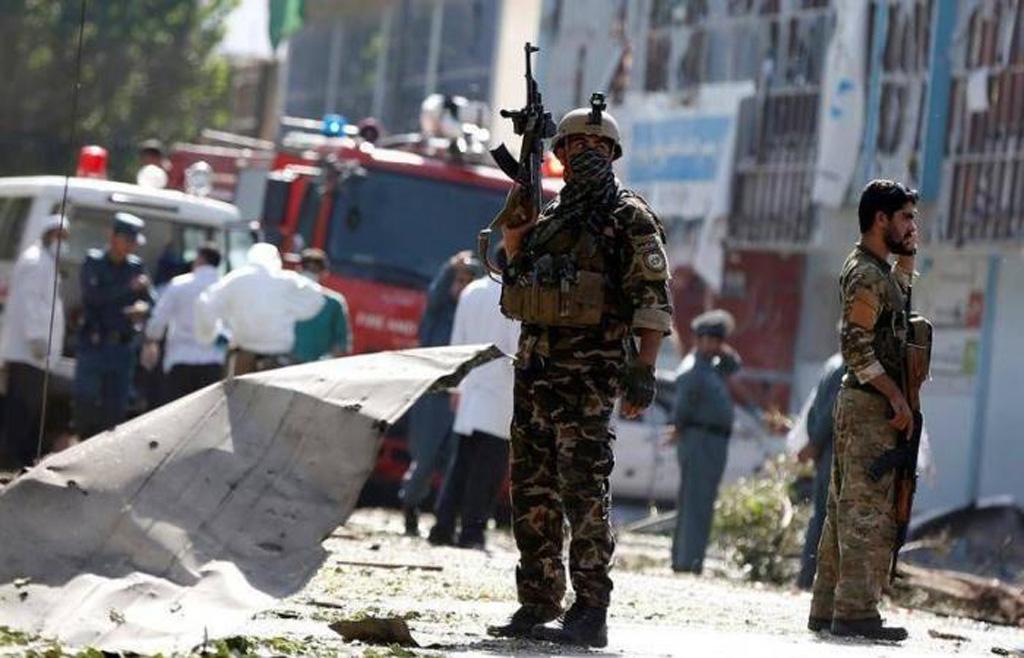 10 قتلى في هجوم انتحاري على قوات الامن الافغانية