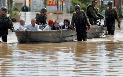 ارتفاع حصيلة ضحايا الأمطار الغزيرة في اليابان إلى 179 قتيلا