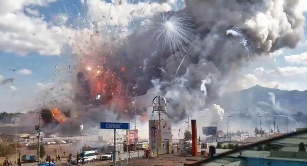 مأساة بسبب الألعاب النارية في المكسيك!