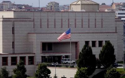 اطلاق نار على السفارة الأميركية في أنقرة خلف أضرارا طفيفة