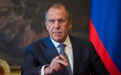 وزير الخارجية الروسي يصل إلى دمشق