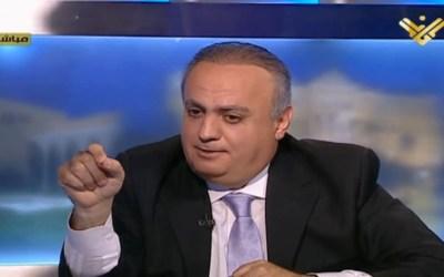 """وهاب ضيف قناة """"المنار"""""""